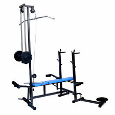 DEAL GB TOP SELLING 20 IN 1 GYM BENCH 2X2 PIPE MULTI EXERCISE