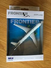 FRONTIER AIRLINES AIRBUS A320 DIECAST METAL MODEL PLANE FUN TOY GIFT USA