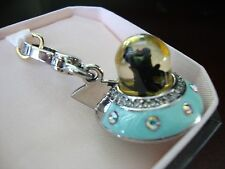 JUICY COUTURE UFO CHARM FOR BRACELET, NECKLACE, HANDBAG OR KEYCHAIN