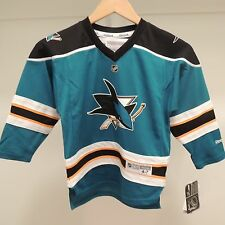 NHL REEBOK San Jose Sharks #39 Hockey Jersey NEW Youth Child 4-7