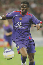 Football Photo LOUIS SAHA Man Utd 2005-06