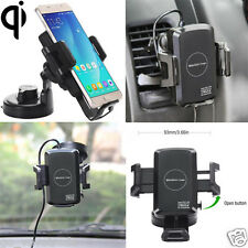 Qi Wireless Car Charger Transmitter Mount Holder for Samsung Galaxy S7/S6 iPhone