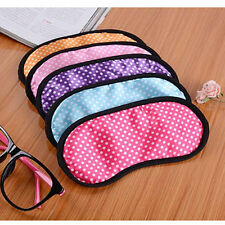 Lovely Sleeping Eye Mask Blindfold Shade Travel Sleep aid Cover 1pcs Hot
