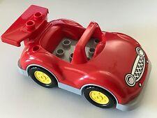 *NEW* Lego DUPLO RED DISNEY CAR with RED SPOILER / WING
