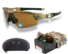 Oakley Radar Pitch Sunglasses WOODLAND CAMO_POLARISED BRONZE OO9052-03