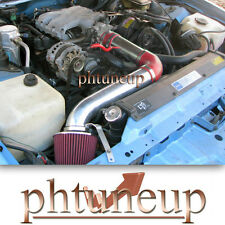 RED 1990-1992 PONTIAC FIREBIRD TPI 3.1 3.1L AIR INTAKE INDUCTION KIT +  FILTER