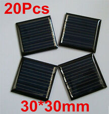 20X 0.09W 2V 45mAh 30X30mm Mini Power Solar Panel Cell Module For DIY Light Toys