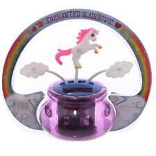 UNICORN & CLOUDS SOLAR PAL - CUTE - WINDOW - OFFICE - UNICORNS - GIFT IDEA - NEW