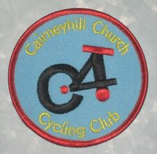 "Cairneyhill Church Cycling Club Patch -  UK - 3"" x 3"""