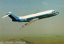 Postcard 410 - Aircraft/Aviation Fokker Fellowship F-28 NLM CityHopper