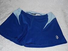 Nike Spandex Shorts Women's Sexy Yoga Gym Workout Short Size XS 0-2 Blue Dri Fit