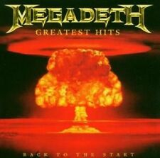 "MEGADETH ""GREATEST HITS:BACK TO THE START""CD NEU !!!"