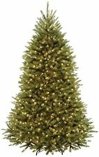 New National Tree Co. 7' Dunhill Fir Pre-Lit Christmas Tree Clear Lights