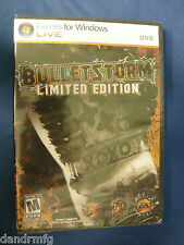 BulletStorm: Limited Edition (PC, 2011) video game mature 17+ windows live