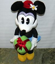 GEMMY HOLIDAY DOOR GREETER MINNIE MOUSE 25 INCH CHRISTMAS SINGING PLUSH