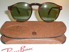 BAUSCH & LOMB RAY BAN W0931 TORTOISE RB3 TRUGREEN GATSBY STYLE 1 SUNGLASSES NEW!