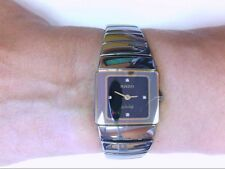 Nice Ladies Rado Jubile DiaStar Ceramics/Titanium Watch. BOX AND LINKS INCLUDED.