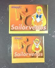 Sailor Moon Venus  Blank Greeting Card Lot of 2 Anime 2 Sizes