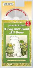 I Can Read Level 2: Frog and Toad All Year by Arnold Lobel (2005, CD, Abridged)