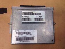SAAB 9-5 95 ENGINE 2003 2.3 ECU 5384037 T7.7A04 5380076 309011454 868729LX