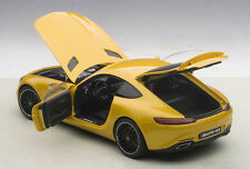 Autoart MERCEDES BENZ AMG GT-S SOLARBEAM/YELLOW ORANGE 1/18 Scale New In Stock!