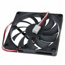 3pin DC 12V 8cm 8010s 80mm x 10mm Brushless PC CPU case Lüfter cooling fan Quiet