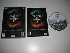 BLACK & WHITE 2 Apple MAC inc BATTLE OF THE GODS Add-On Expansion Pack