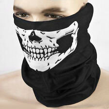 Unisex Skull Headband Motorcycle Seamless Soft Face Mask Outdoor Scarve Bandana