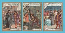 LIEBIG - SET OF 6 CARDS -  S 603  /  F 603  - SHAKESPEARE'S  RICHARD  III - 1899