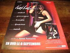 EMMANUELLE BEART - Publicité de magazine FILM NATHALIE !!!!!!!!!!!!!