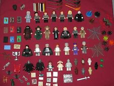 LEGO Harry Potter minifigures LOT Dumbledore,Voldemort,Hagrid,Hermione,Ron,Snape