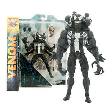 "New Marvel SELECT VENOM 8"" Spider-Man Villian DELUXE Comic Action Figure"