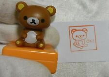 Rare Japan Rilakuma Stamp , Ink Paper Inkan Rirakuma Rubber Seal