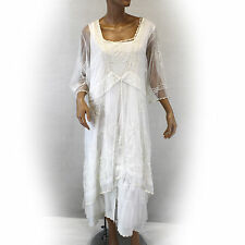 NEW NWT Nataya Plus Size Vintage Titanic Wedding Ivory Bridal Dress Slip Set 2X