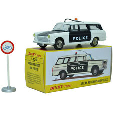 Atlas Dinky Toys Scale 1:43 New Editions 1429 Break Peugeot 404 Police Car Toys