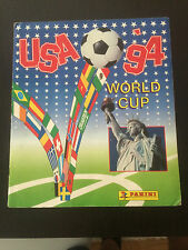 PANINI WORLD CUP USA 94 STICKERS ALBUM COMPLETE RARE ORIGINAL
