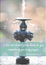 Water Fountain Giving Thanks & Prayers For You DaySpring Note Cards - Set of 8
