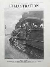 L' ILLUSTRATION 1910 N 3513 LA CATASTROPHE FERROVIAIRE DE VILLEPREUX-LES-CLAYES