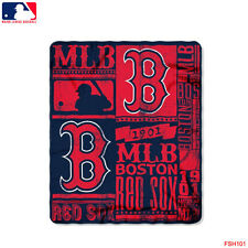 "New Northwest MLB Boston Red Sox Large Soft Fleece Throw Blanket 50"" X 60"""