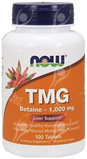 Now Foods TMG  1000mg x100 - CHEAPER SAM-E ALTERNATIVE!