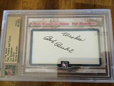 2014 In The Game Bob Buhl Past Present And Future Cut Auto 1/1 Encased Braves