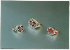 Coronation Rings. The Sovereign's Ring, Consort's Ring, Queen Victoria's Ring.