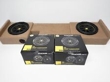 "2004 to 2008 Ford F150 Supercrew Enclosure kicker sub box Crewcab 10"" Crew cab"