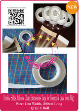 1 ROLL Double Sides Tape for Skin Weft Tape Hair Extensions Hairpiece Toupee NEW