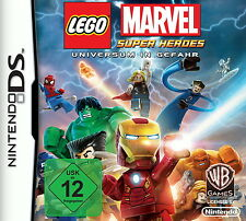 Lego Marvel Super Heroes (Nintendo DS, 2013) Universe in danger
