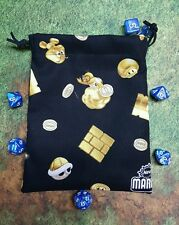 Super Mario Brothers 2 power ups dice bag