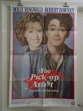 THE PICK - UP - ARTIST one 1 sheet movie poster MOLLY RINGWALD ROBERT DOWNEY ori