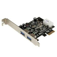 StarTech PEXUSB3S25 2 Port PCI Express (PCIe) SuperSpeed USB 3.0 Card Adapter