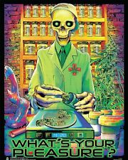 WHAT'S YOUR PLEASURE - WEED BLACKLIGHT POSTER - 16x20 - NON-FLOCKED 161946