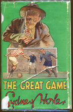 The Great Game by Sydney Horler-UK Hardcover Edition in Dust Jacket-1937